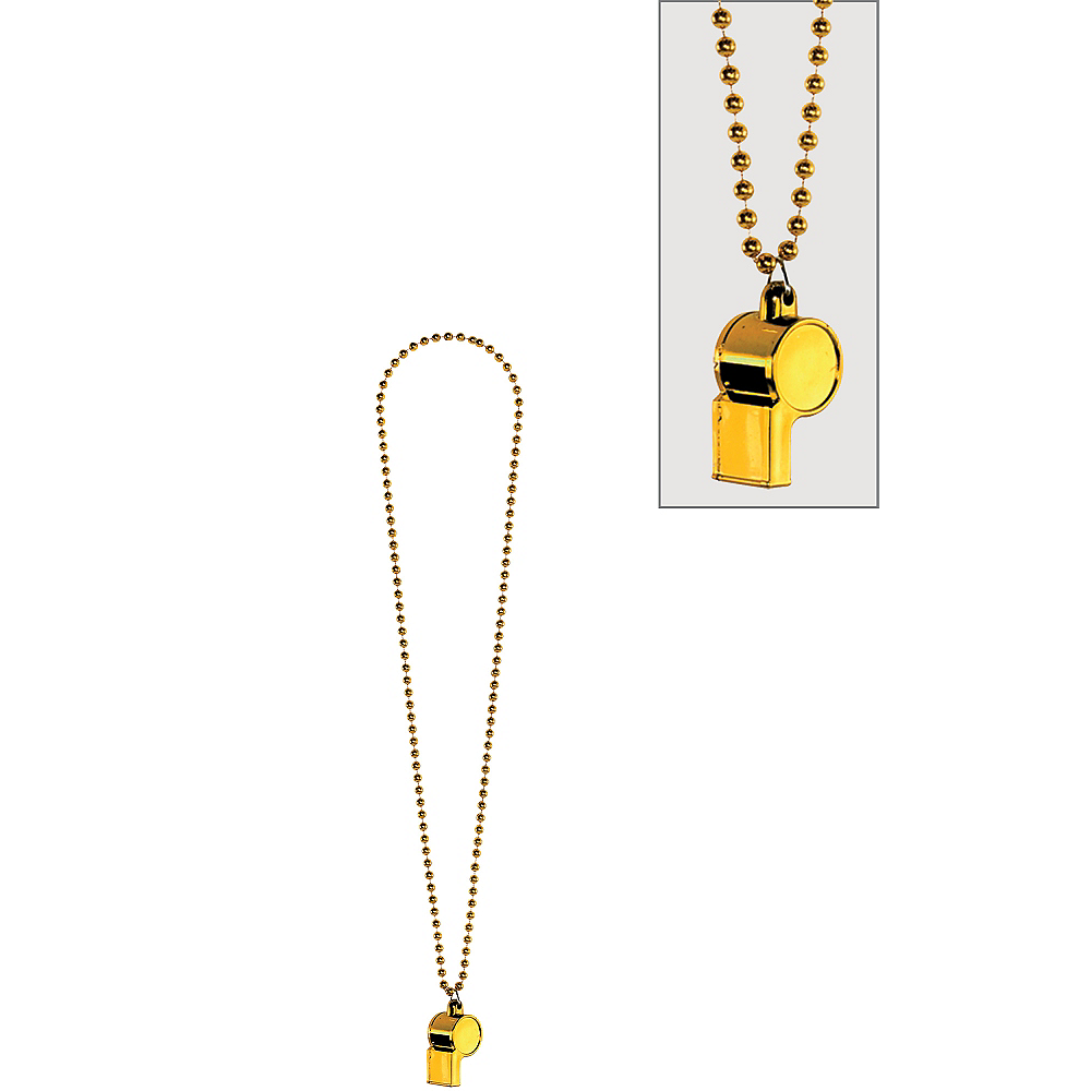 Yellow Whistle Necklace Image #1
