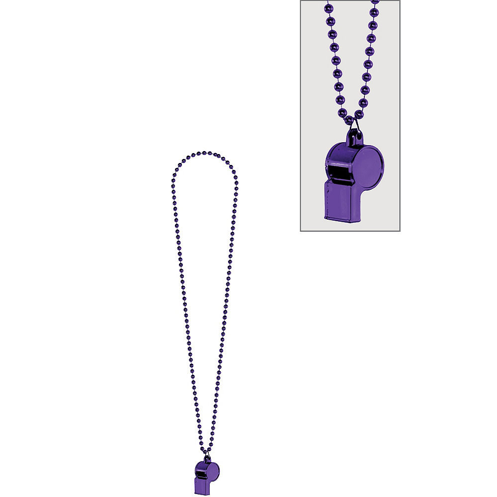 Purple Whistle Necklace Image #1