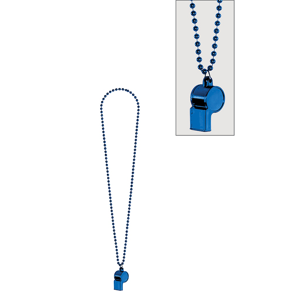Blue Whistle Necklace Image #1