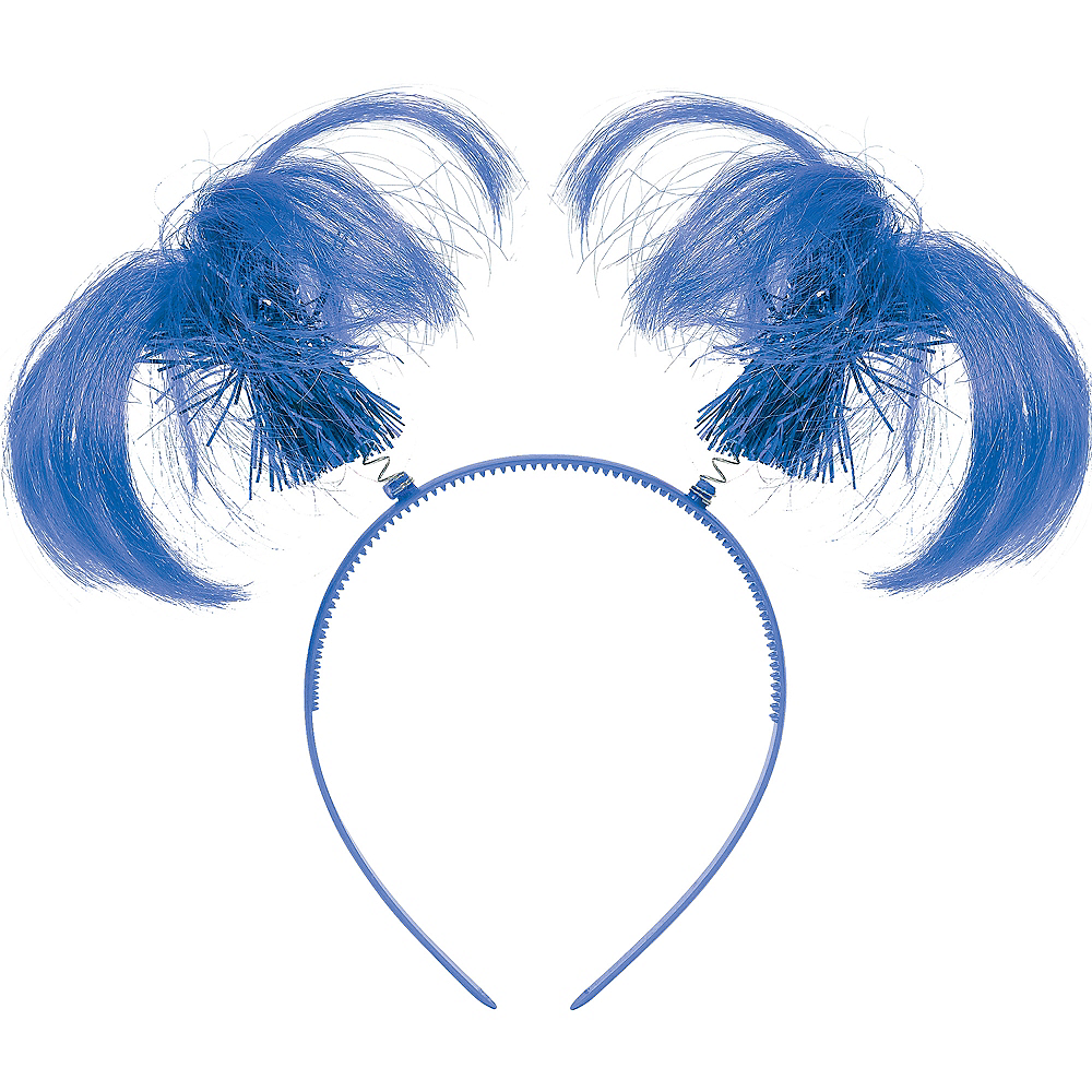 Nav Item for Blue Ponytail Head Bopper Image #1