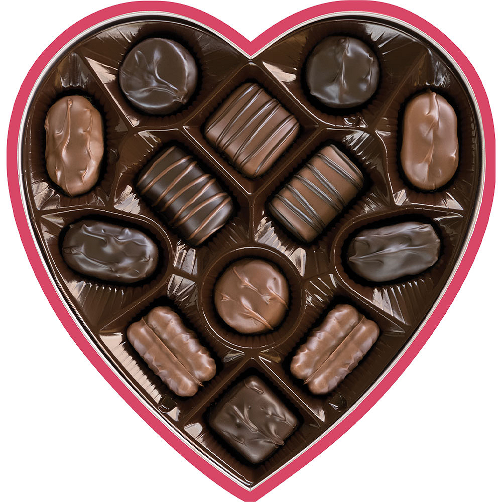 Russell Stover Heart Box of Assorted Fine Chocolates, 7oz Image #2