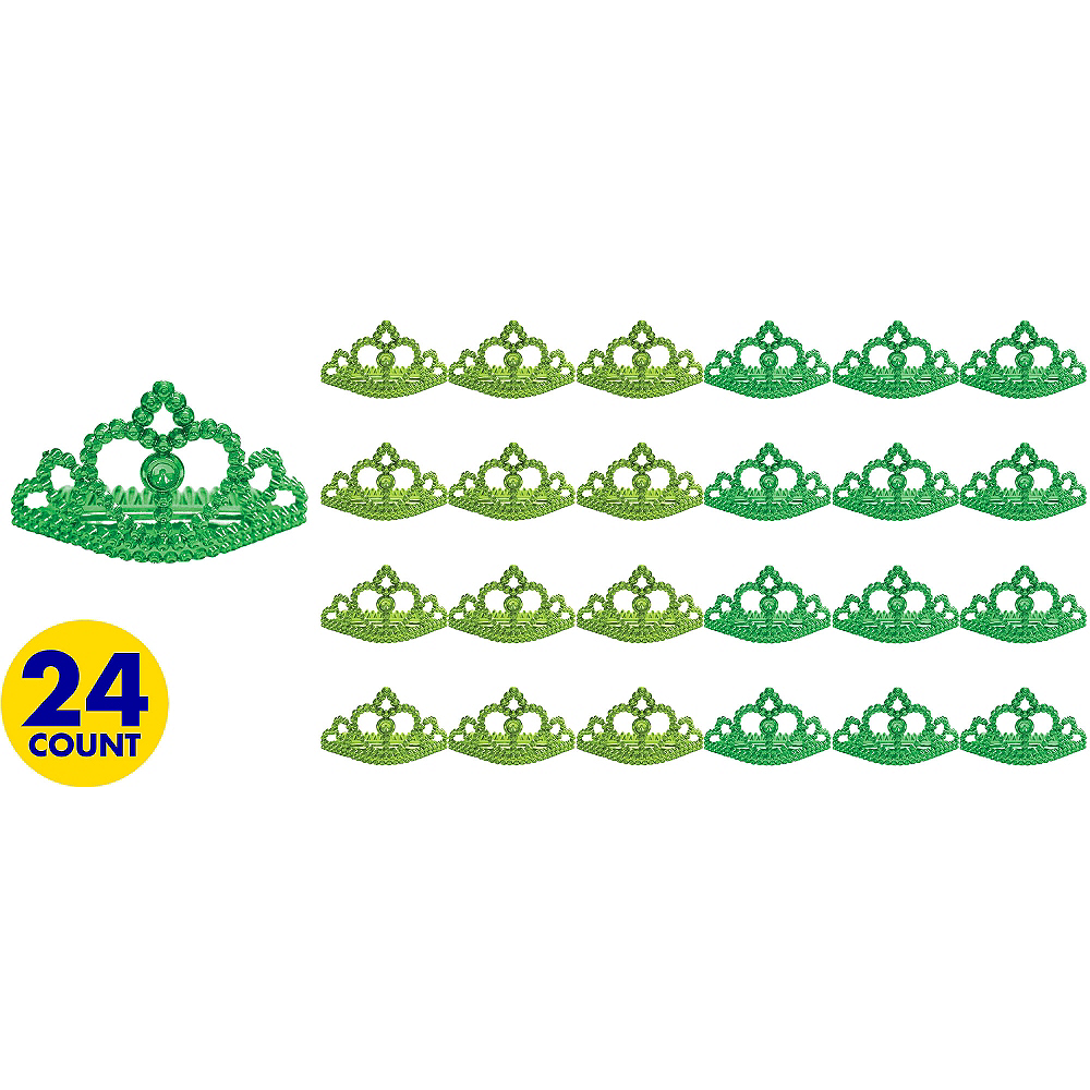 St. Patricks Day Metallic Tiaras 24ct Image #1