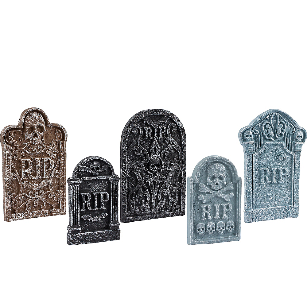 Tombstone Decoration Set 5ct Image #1