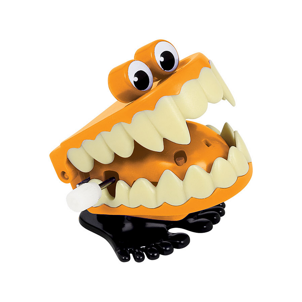 Halloween Wind-Up Teeth Image #1
