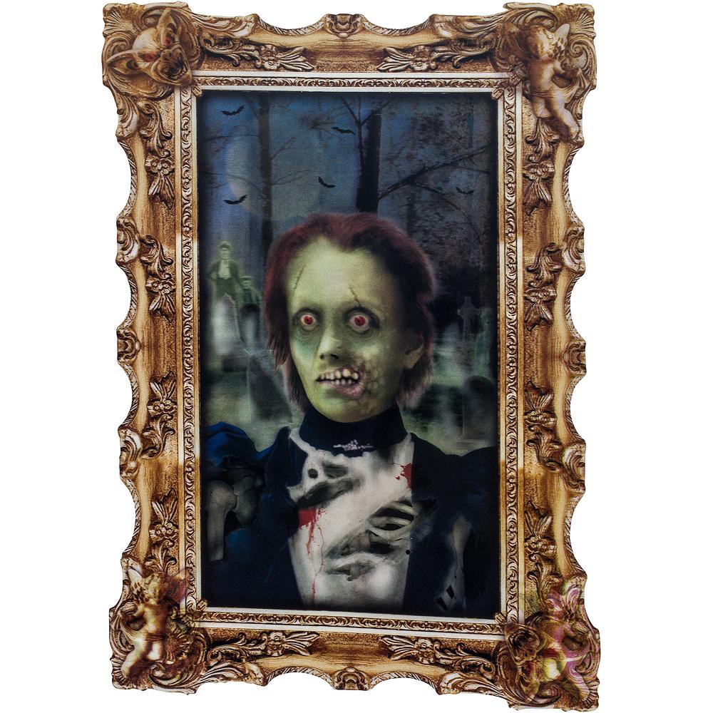 Girl Zombie Lenticular Portrait Image #1
