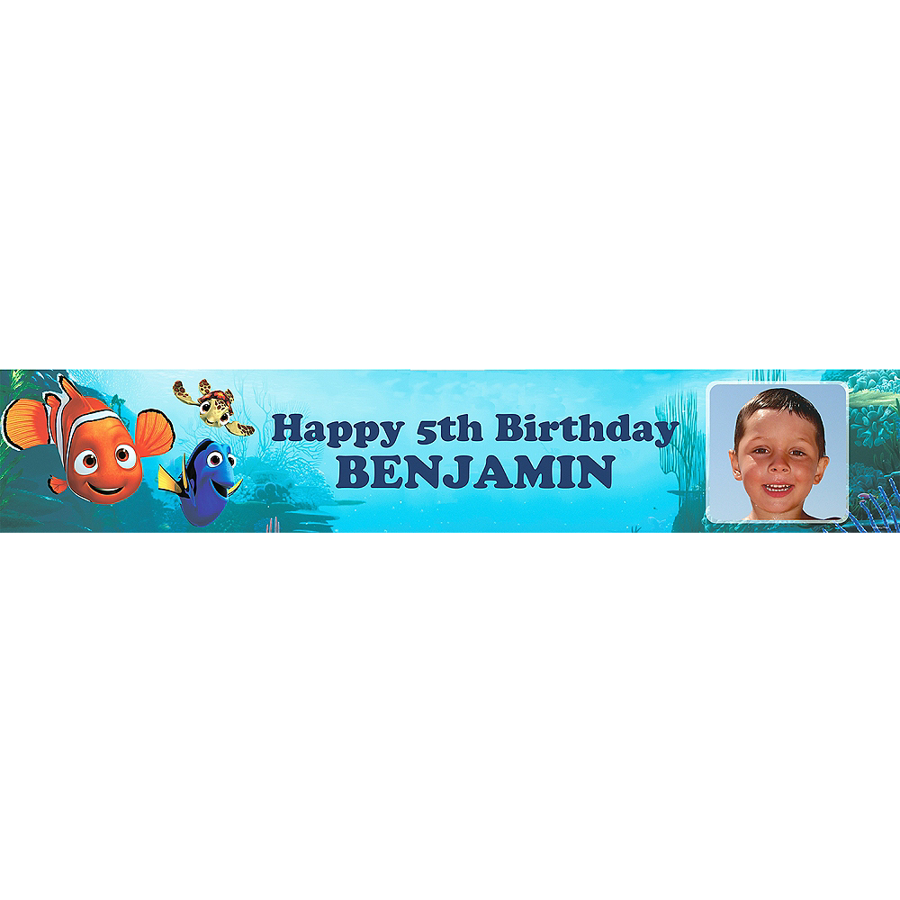 Custom Nemo & Friends Photo Banner 6ft Image #1