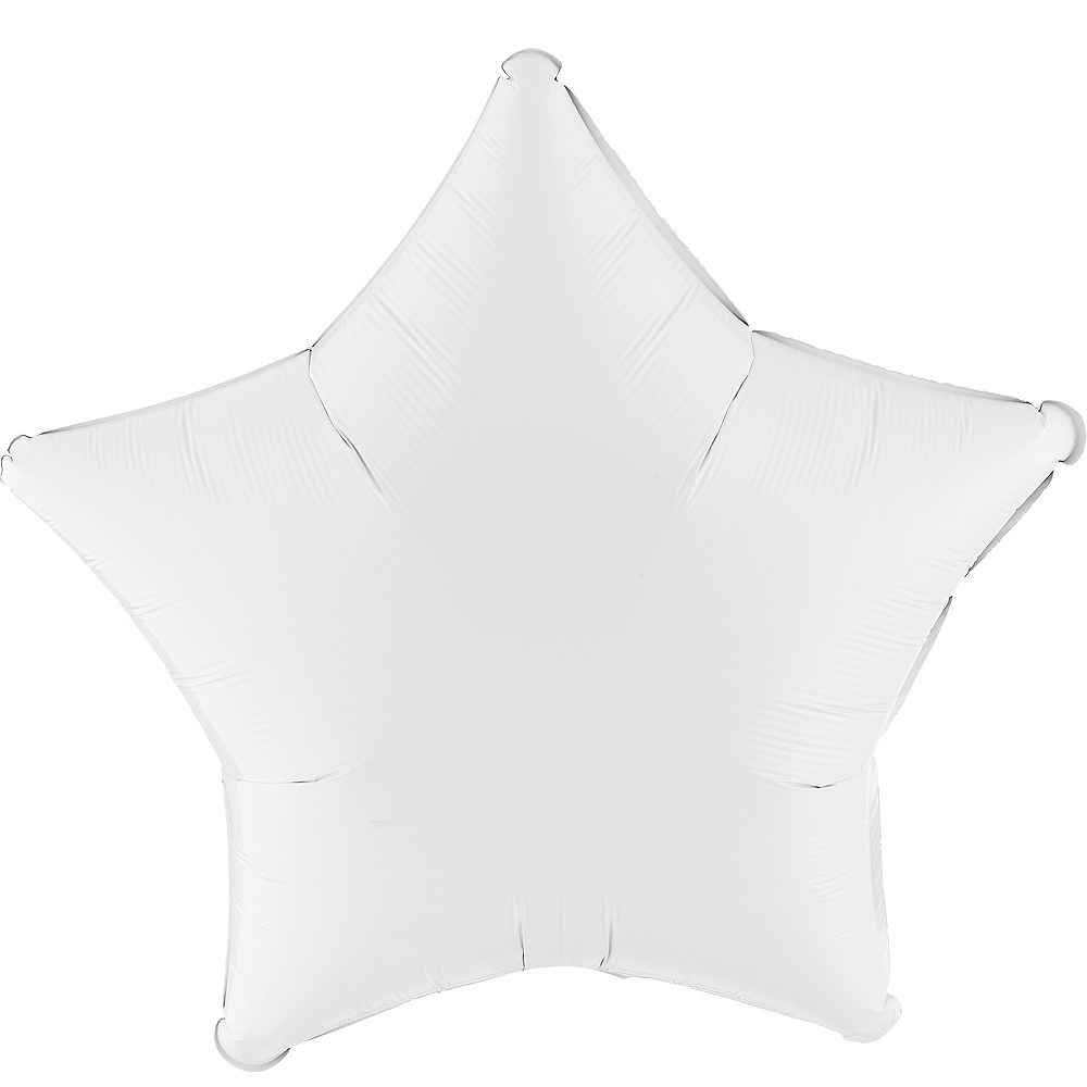 White Star Balloon, 19in Image #1