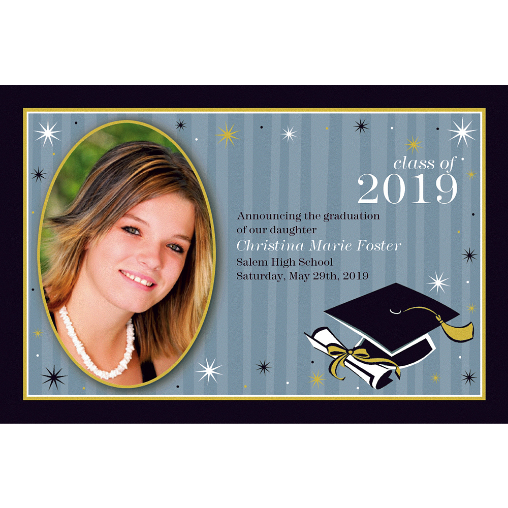 Custom Grad Honors Photo Announcements    Image #1