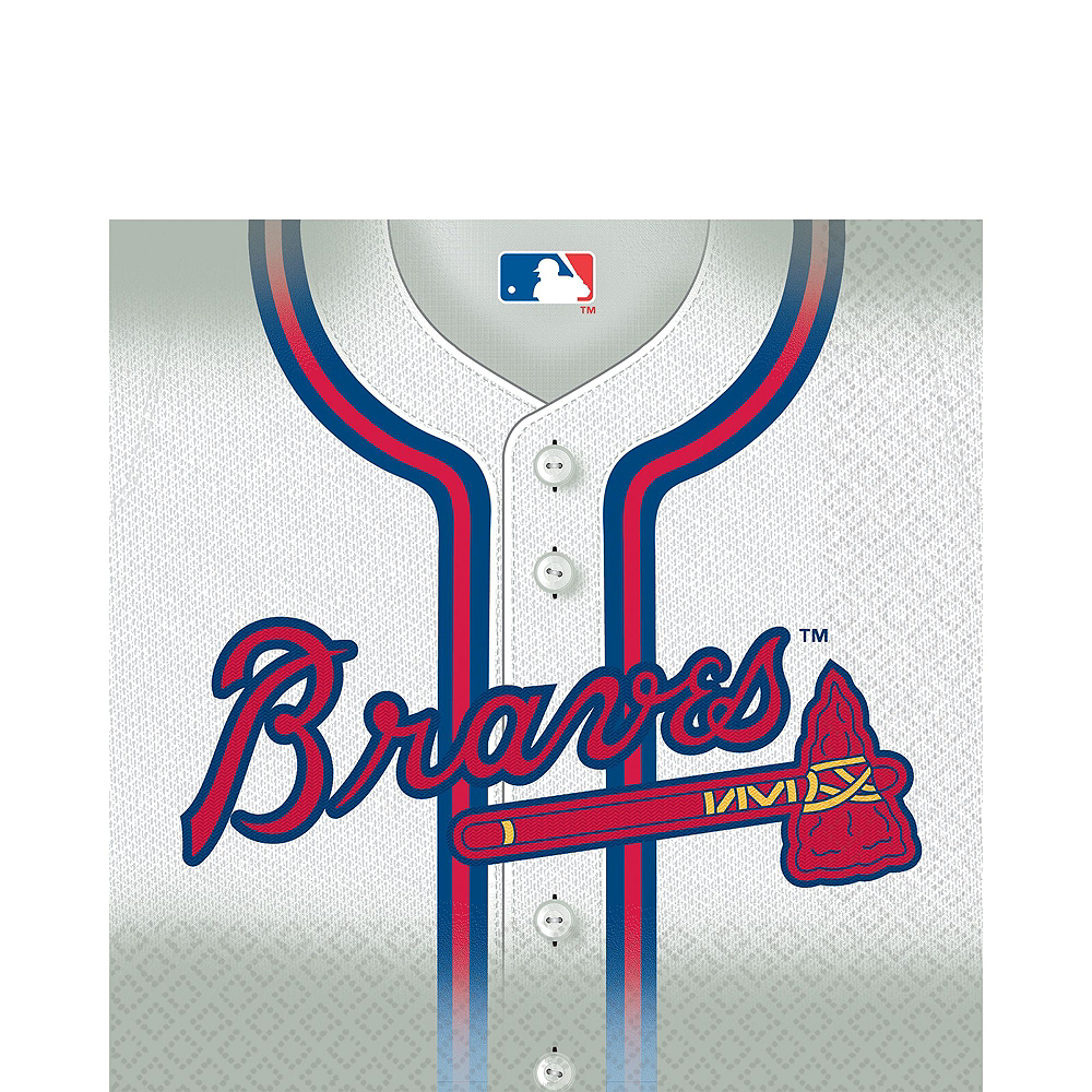 Atlanta Braves Party Kit for 18 Guests Image #3