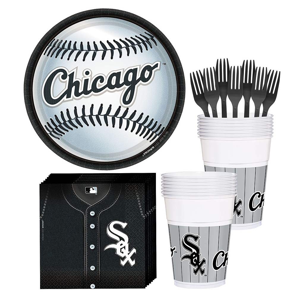 Chicago White Sox Party Kit for 18 Guests Image #1