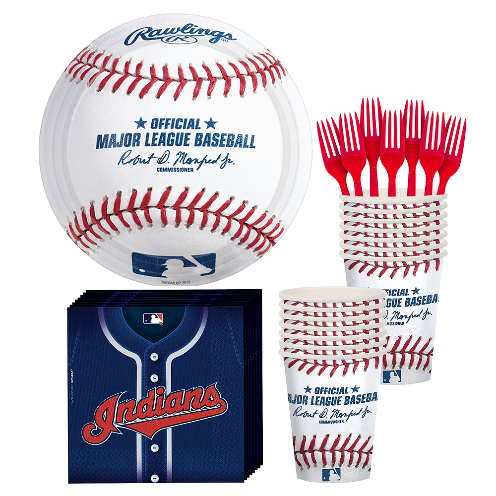 Cleveland Indians Party Kit for 16 Guests Image #1