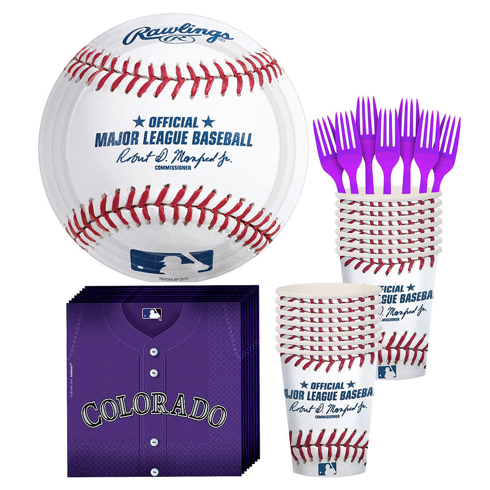 Colorado Rockies Party Kit for 16 Guests Image #1
