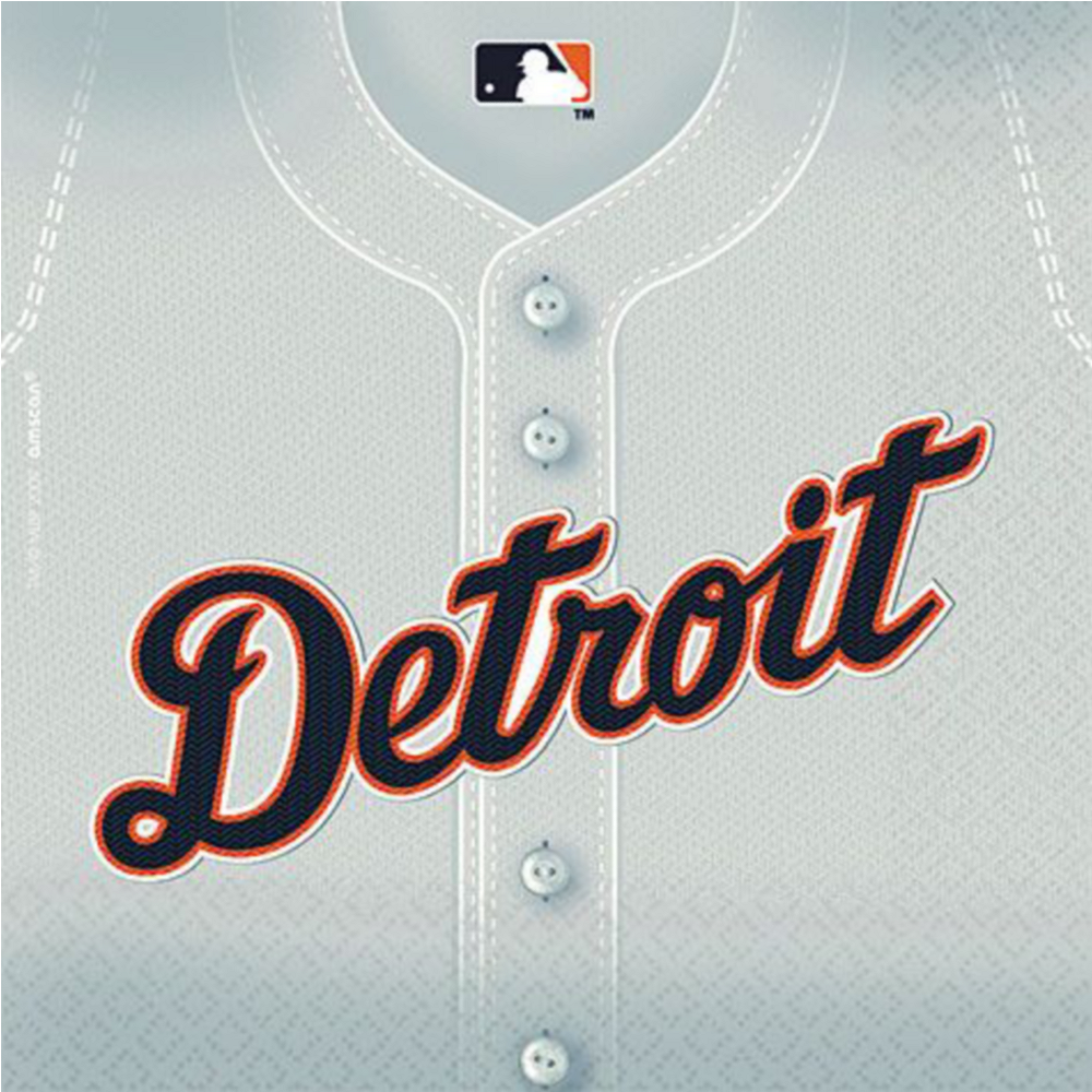 Detroit Tigers Party Kit for 16 Guests Image #3