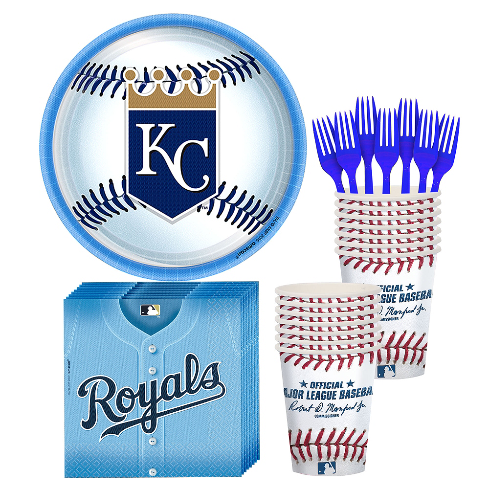 Kansas City Royals Party Kit for 16 Guests Image #1