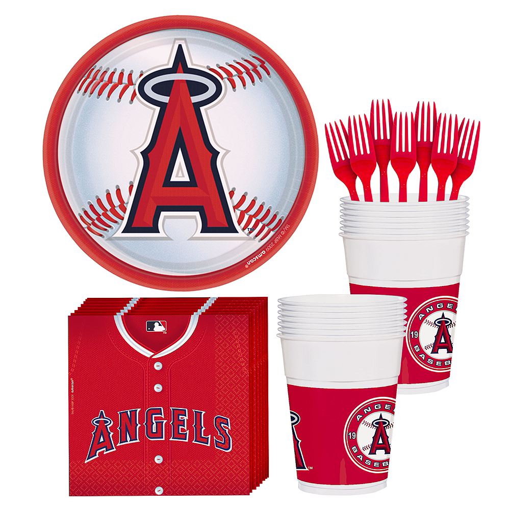 Los Angeles Angels Party Kit for 18 Guests Image #1