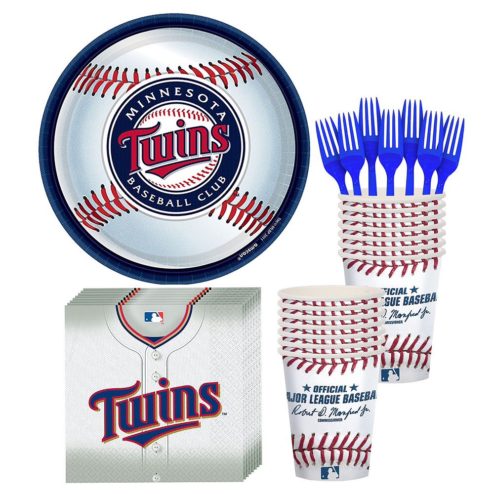 Minnesota Twins Party Kit for 16 Guests Image #1