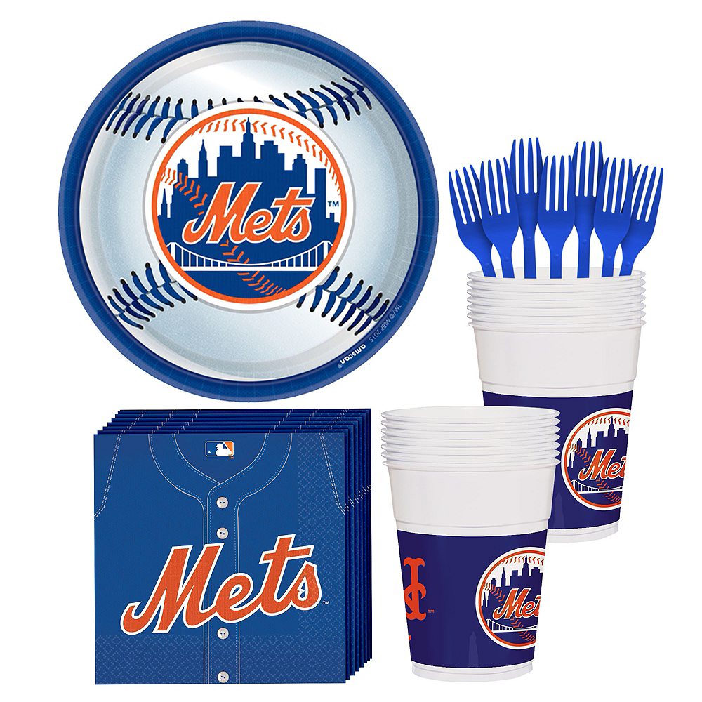 New York Mets Party Kit for 18 Guests Image #1