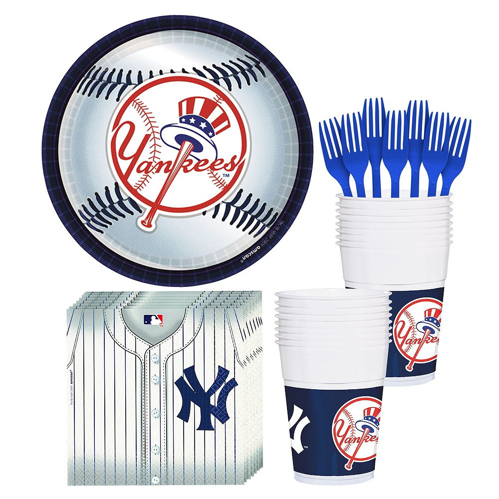 New York Yankees Party Kit for 18 Guests Image #1