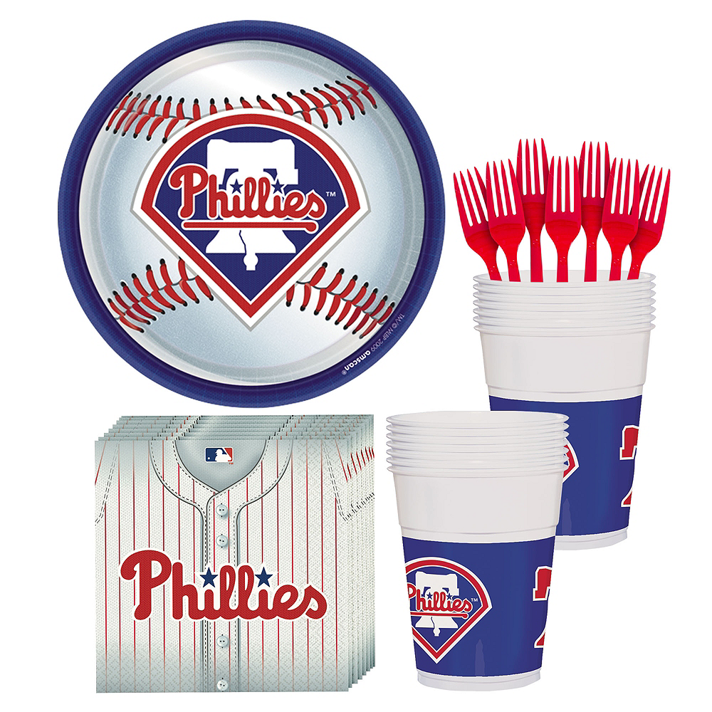 Philadelphia Phillies Party Kit for 18 Guests Image #1