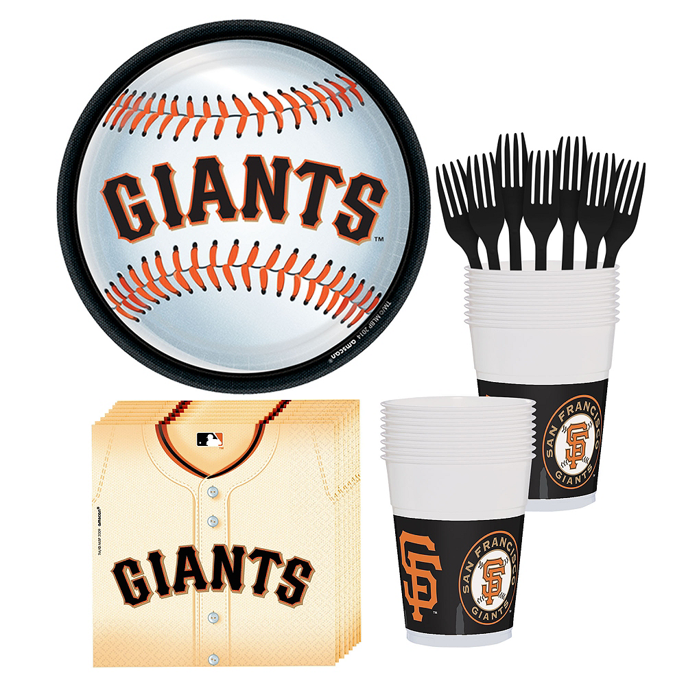 San Francisco Giants Party Kit for 18 Guests Image #1