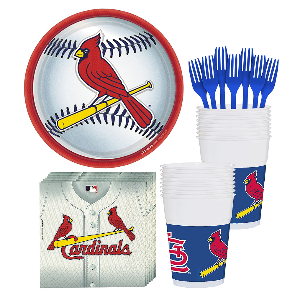 St. Louis Cardinals Party Kit for 18 Guests Image #1