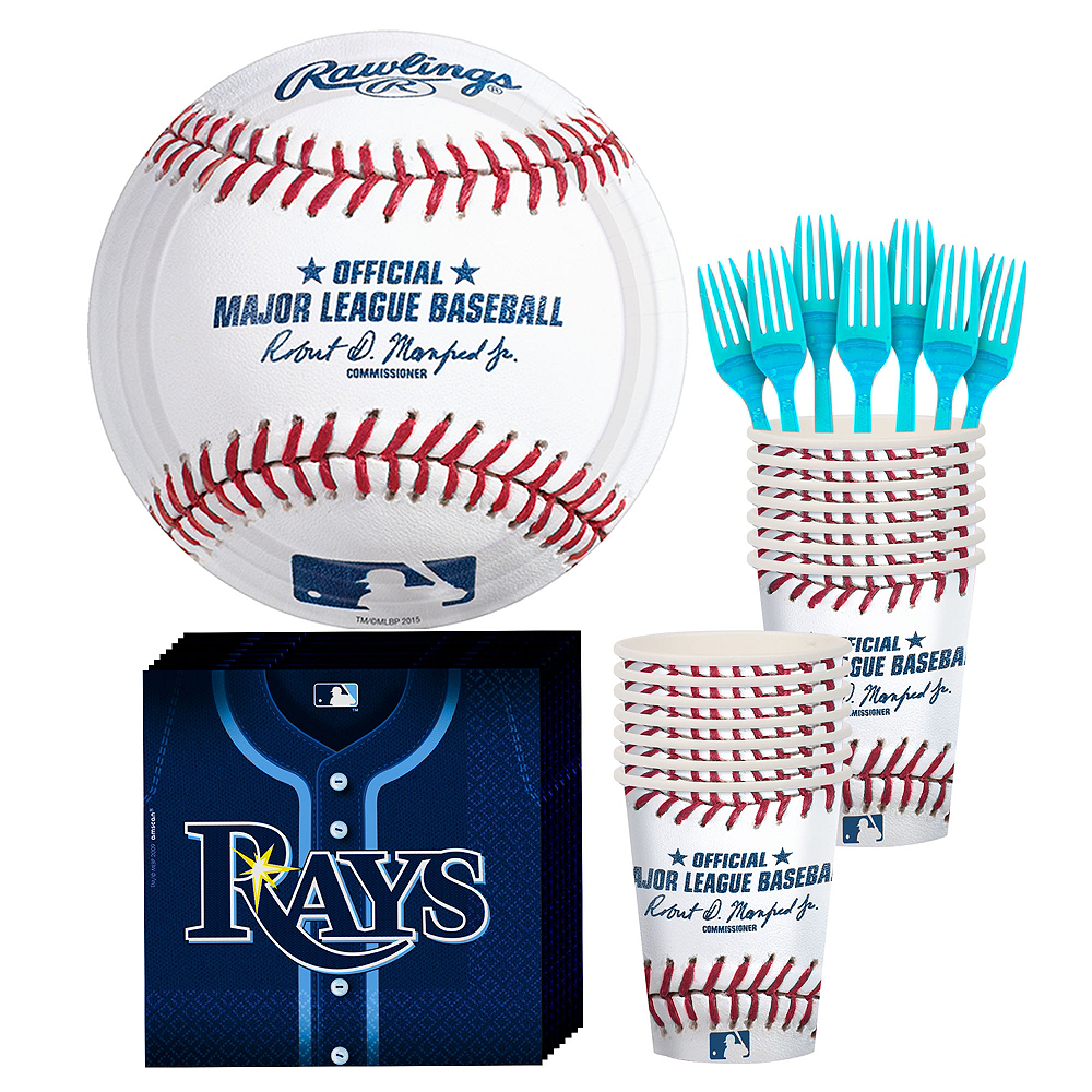 Tampa Bay Rays Party Kit for 16 Guests Image #1