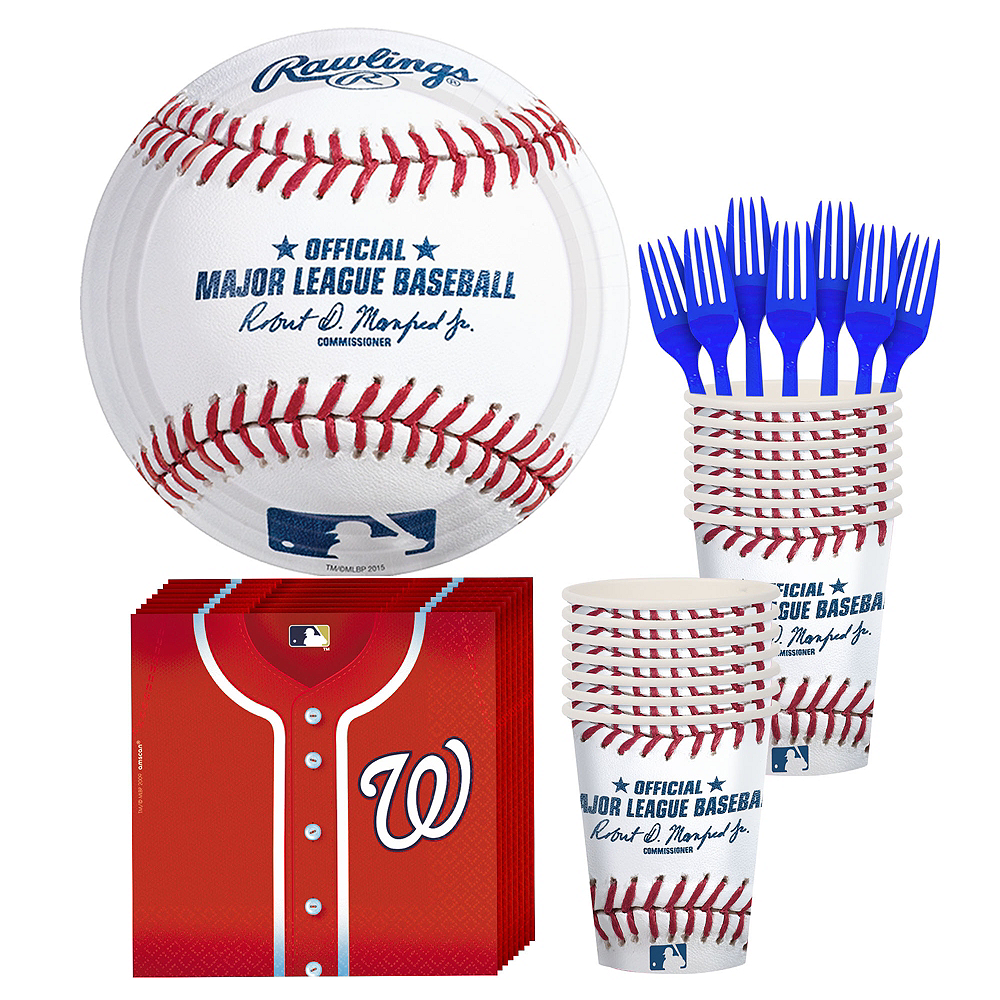 Washington Nationals Party Kit for 16 Guests Image #1