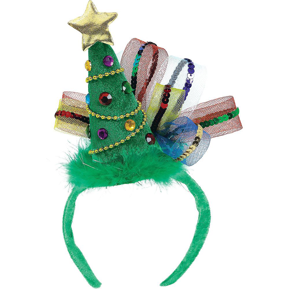 Fashion Christmas Tree Headband Image #1