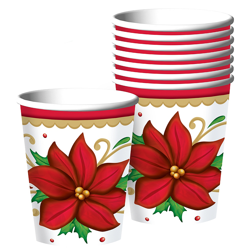 Winter Botanical Cups 50ct Image #1