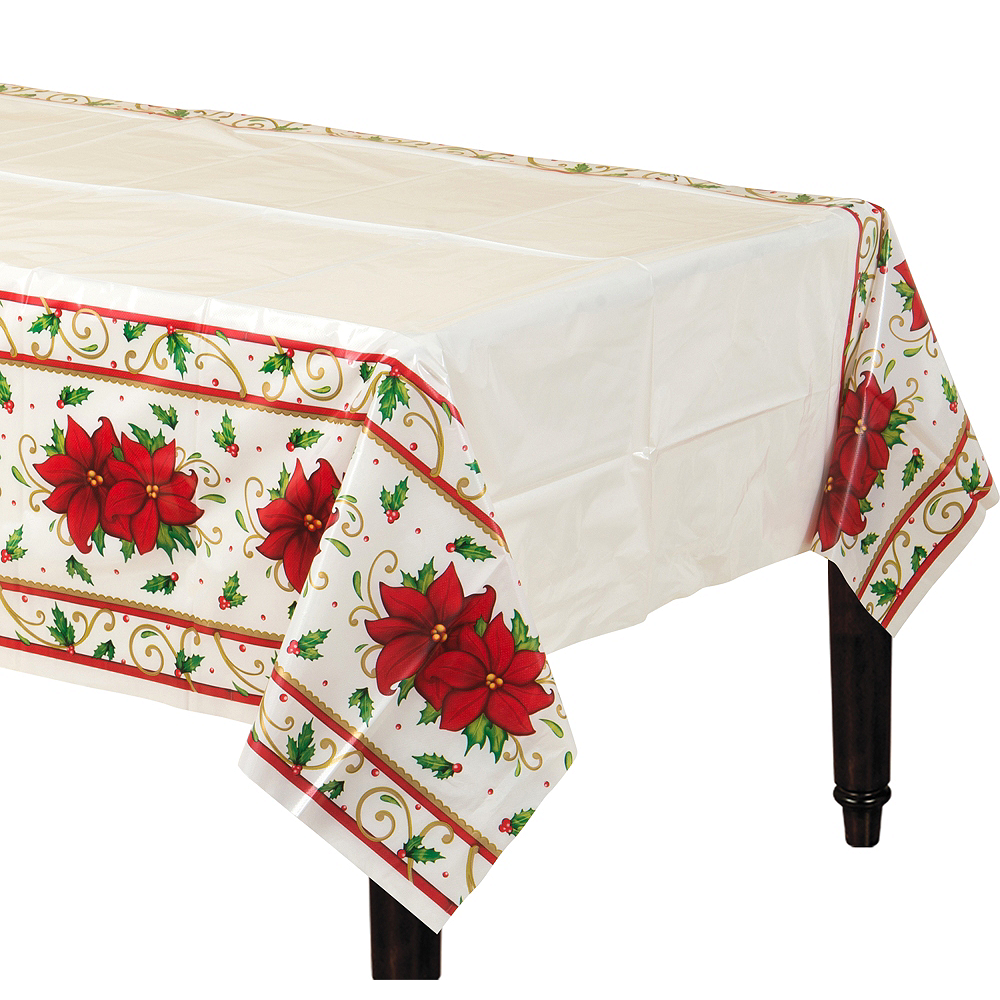 Winter Botanical Table Covers 3ct Image #1