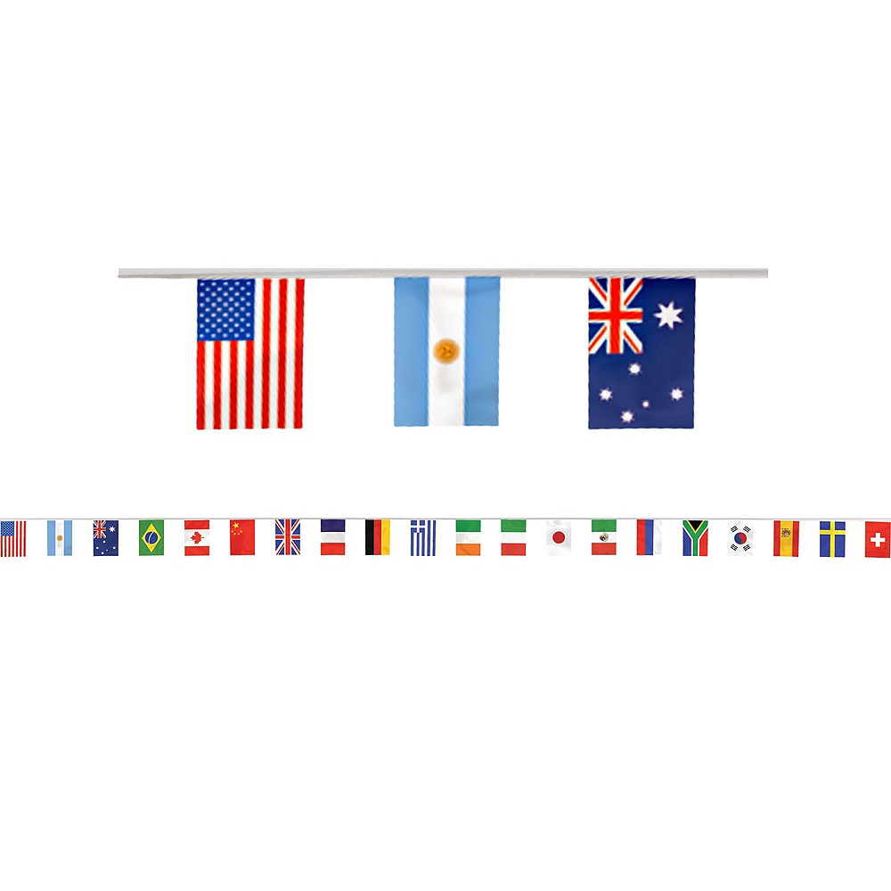 Super International Flag Party Supplies Party Kit for 16 Guest Image #10