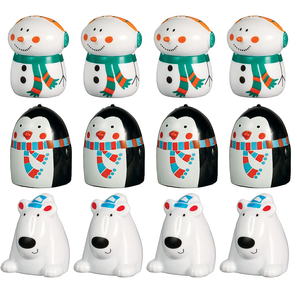 Winter Finger Puppets 12ct Image #1