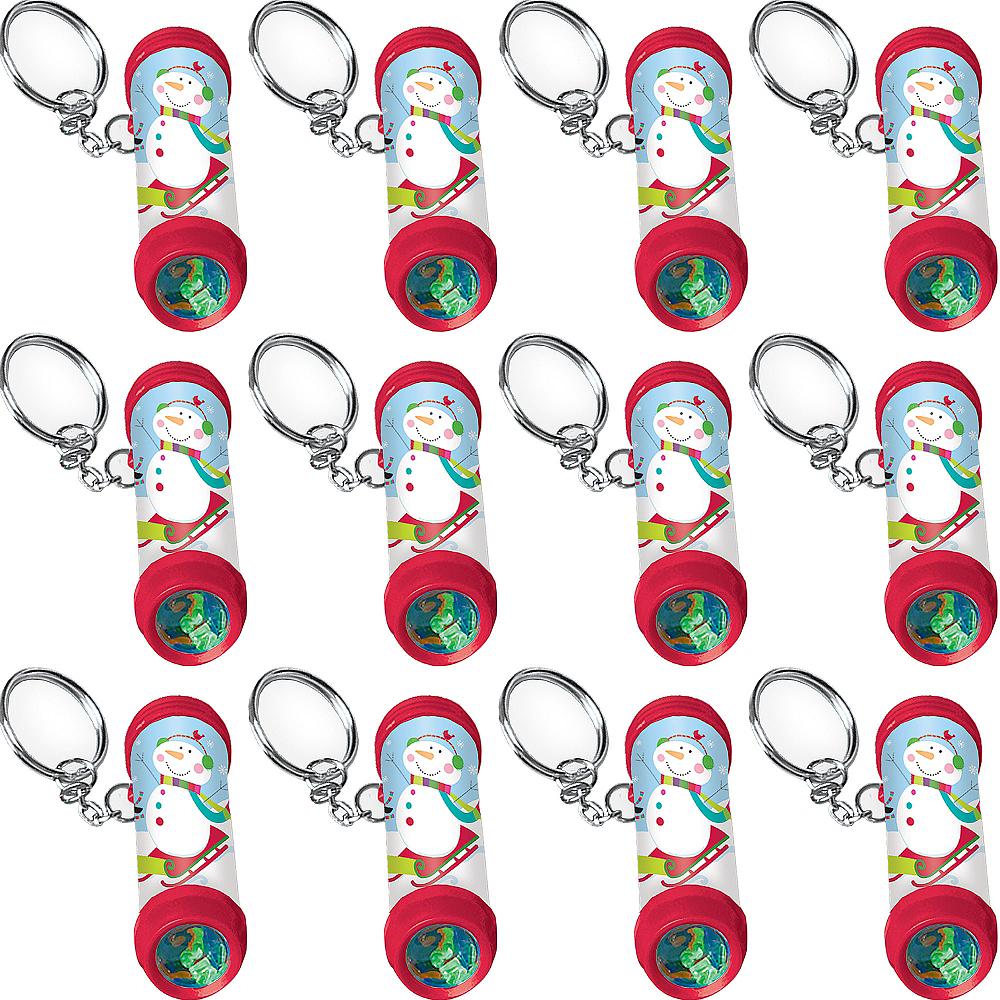 Winter Kaleidoscope Keychains 12ct Image #1