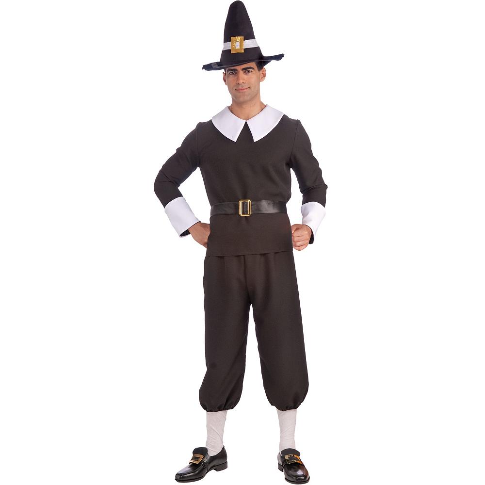 Adult Pilgrim Man Costume Image #1