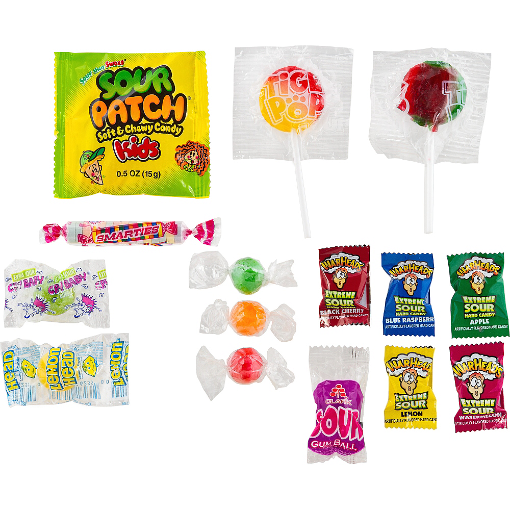 Totally Sour Candy Mix 110pc Image #2