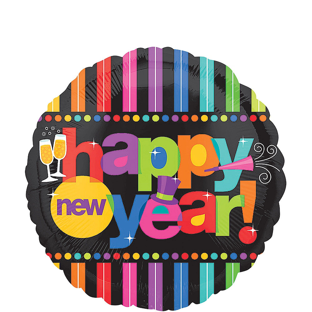 happy new year balloon bright new years image 1