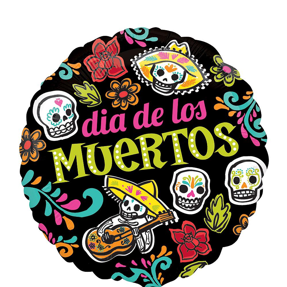 Day of the Dead Balloon - Dia de los Muertos Image #1