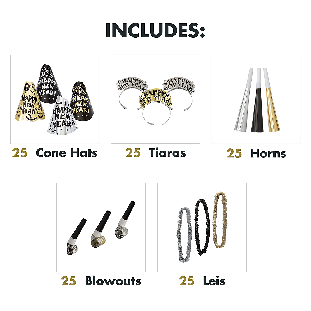 Kit For 50 - Evening Sparkle - New Year's Party Kit Image #3