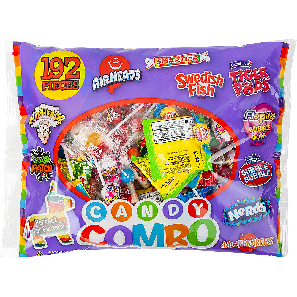 Candy Combo Bag 180pc Image #1