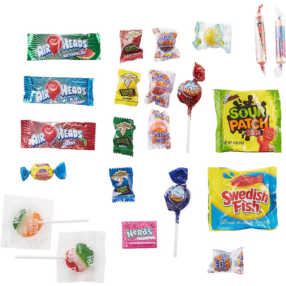Candy Combo Bag 180pc Image #2