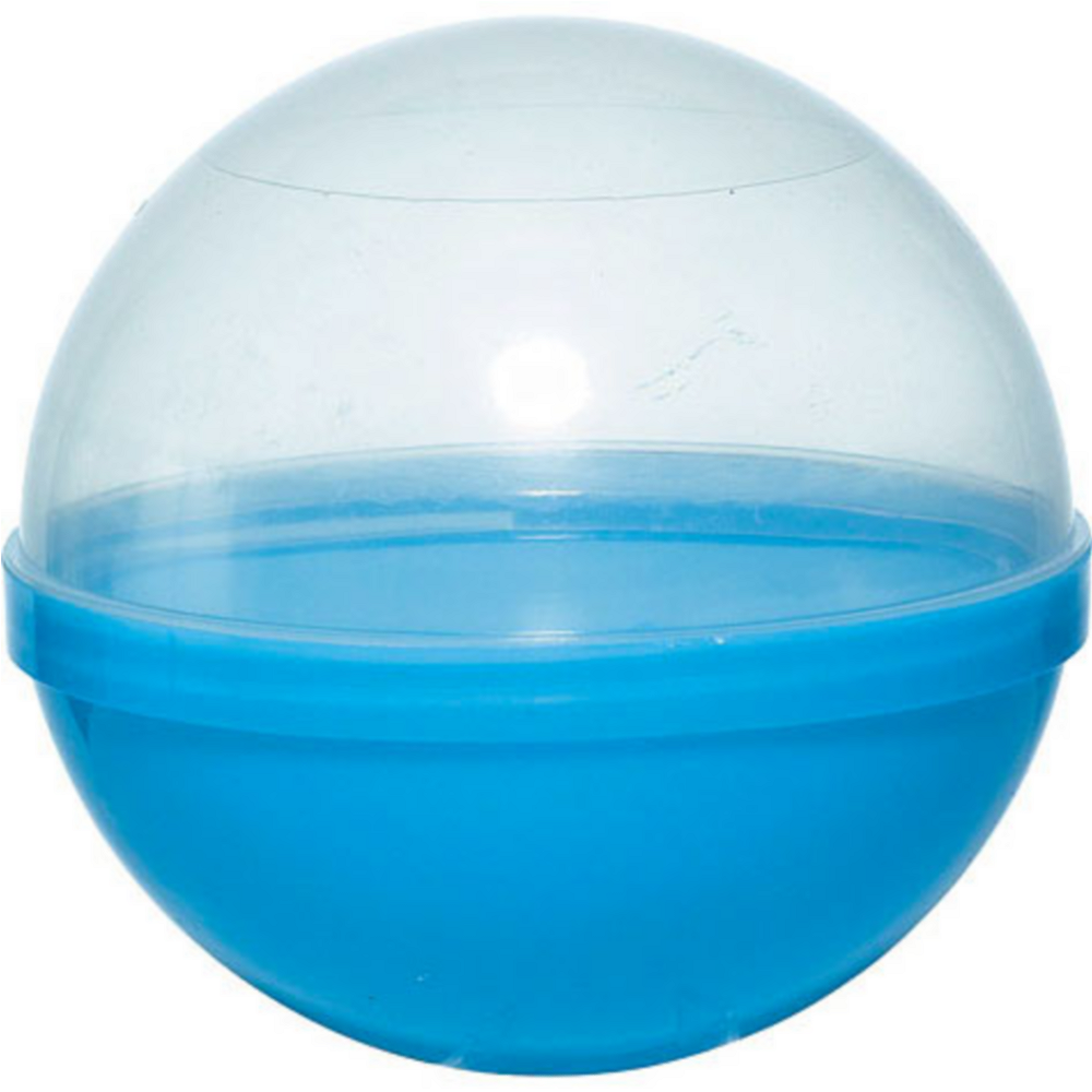 Blue Ball Favor Container 12ct Image #1