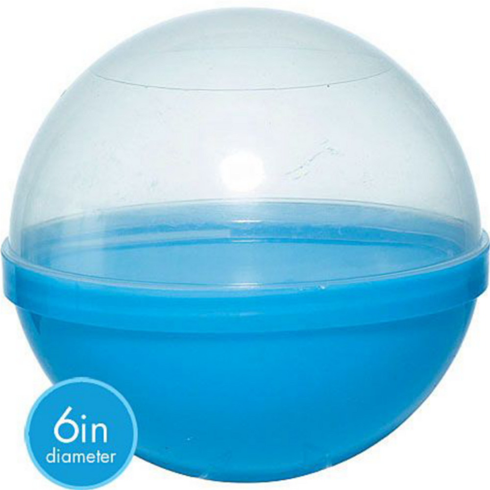 Blue Ball Favor Container 12ct Image #2