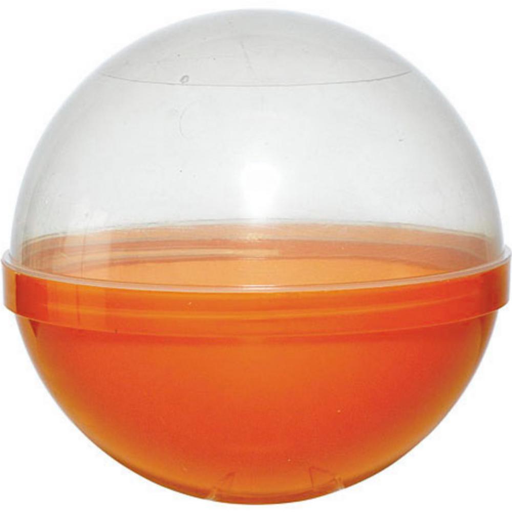 Orange Ball Favor Container 12ct Image #1