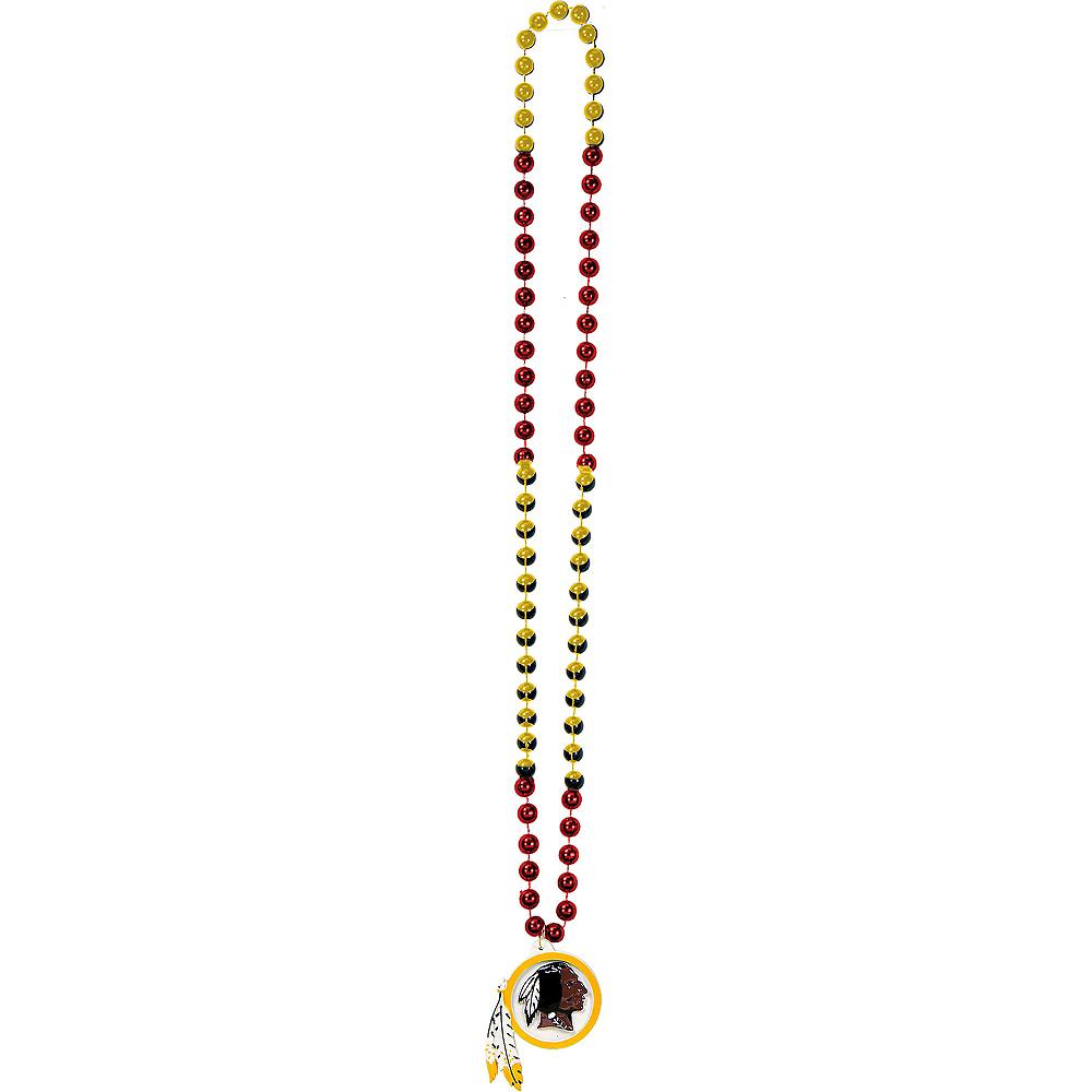 Washington Redskins Pendant Bead Necklace Image #2