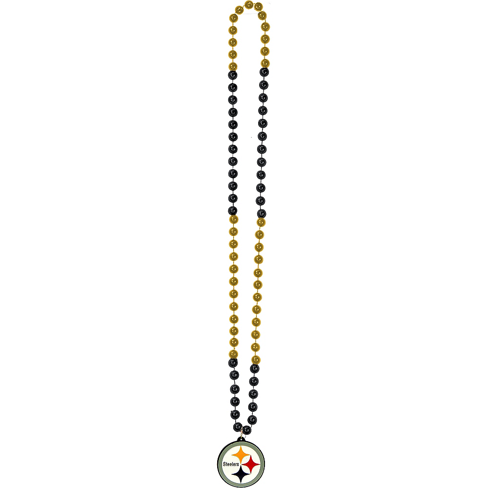 Pittsburgh Steelers Pendant Bead Necklace Image #2