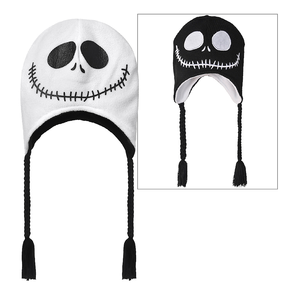 Nav Item for Jack Skellington Peruvian Hat - The Nightmare Before Christmas Image #1