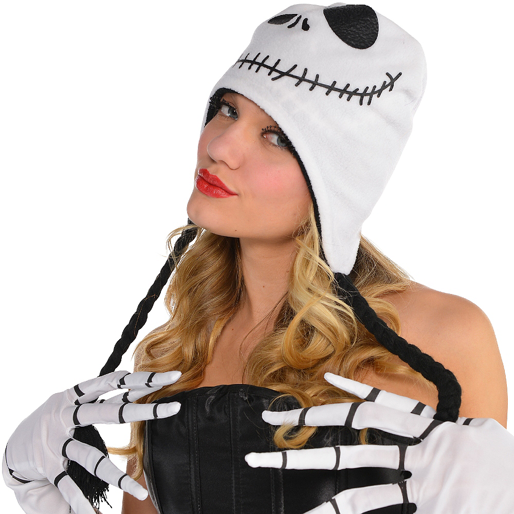 Nav Item for Jack Skellington Peruvian Hat - The Nightmare Before Christmas Image #2