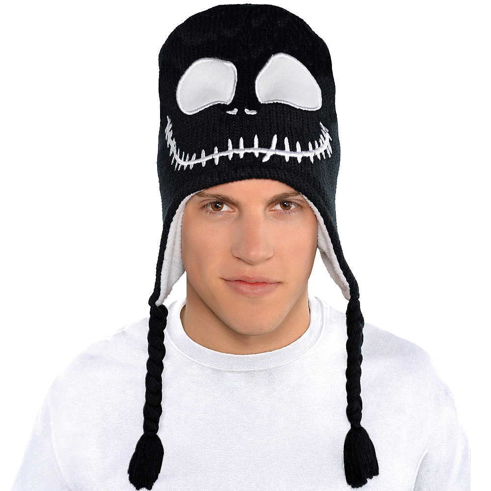 Nav Item for Jack Skellington Peruvian Hat - The Nightmare Before Christmas Image #3
