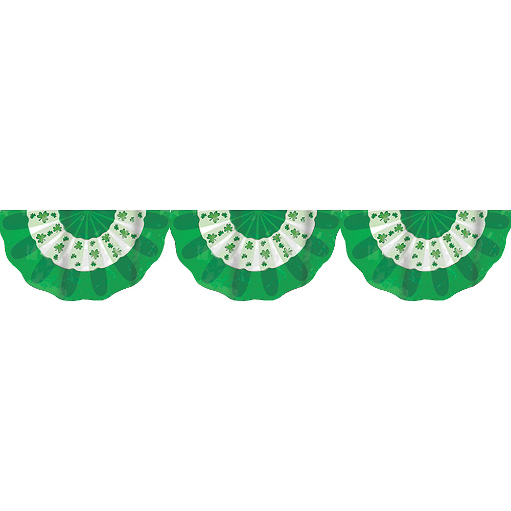 Nav Item for Shamrock St. Patrick's Day Bunting Image #1
