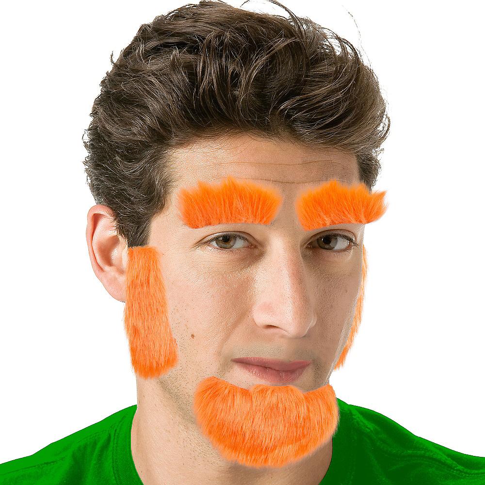Leprechaun Facial Hair Set Image #1